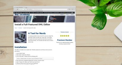 Install a Full-Featured XML Editor
